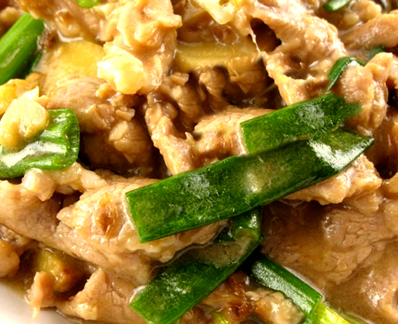 Oriental Pork Stir Fry picture