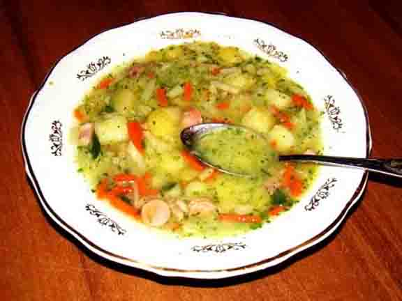 POTATO AND VEGETABLES SOUP picture