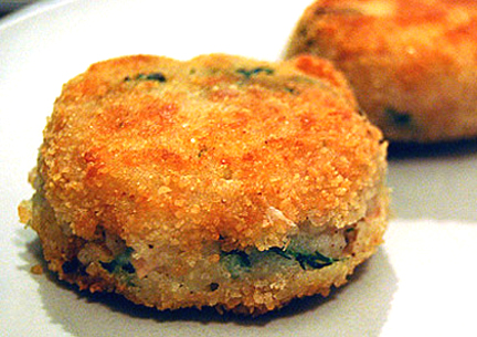 Bacon-Flavored Potato Cakes picture