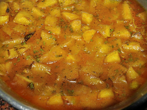 Potato Curry picture