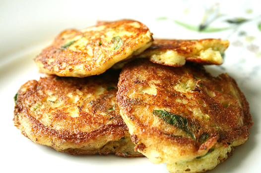 Potato Pancakes With Chives picture