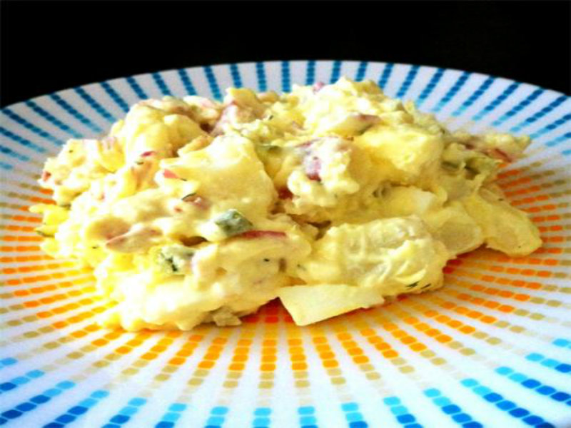 German Potato Salad With Mayonnaise picture