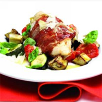 Prosciutto-Wrapped Chicken Breasts Stuffed with Grana Padano picture