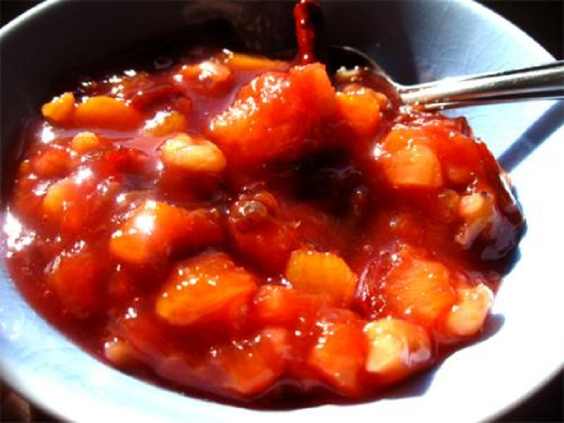 Prune And Orange Compote picture