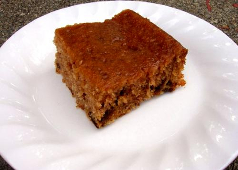 Prune Ginger Cake picture