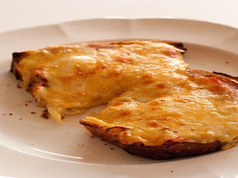 Puffed Cheese Rarebit picture
