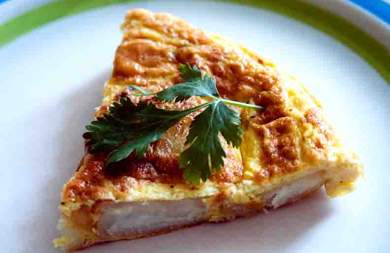 Puffy Spanish Omelette picture