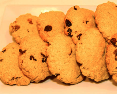 Pumpkin and Raisin Cookies picture