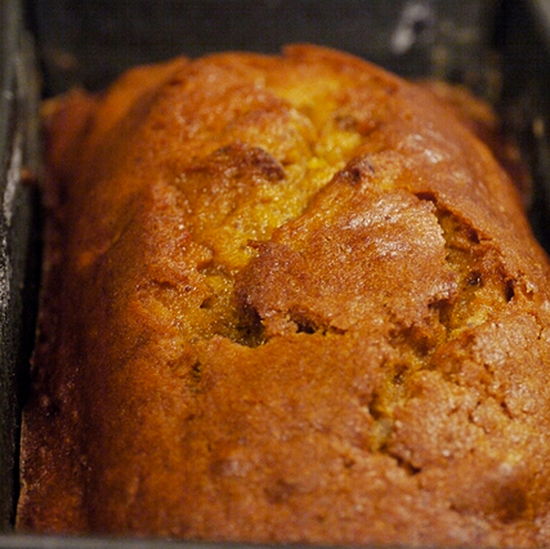 Pumpkin Bread Flavored With Cinnamon And Cloves picture