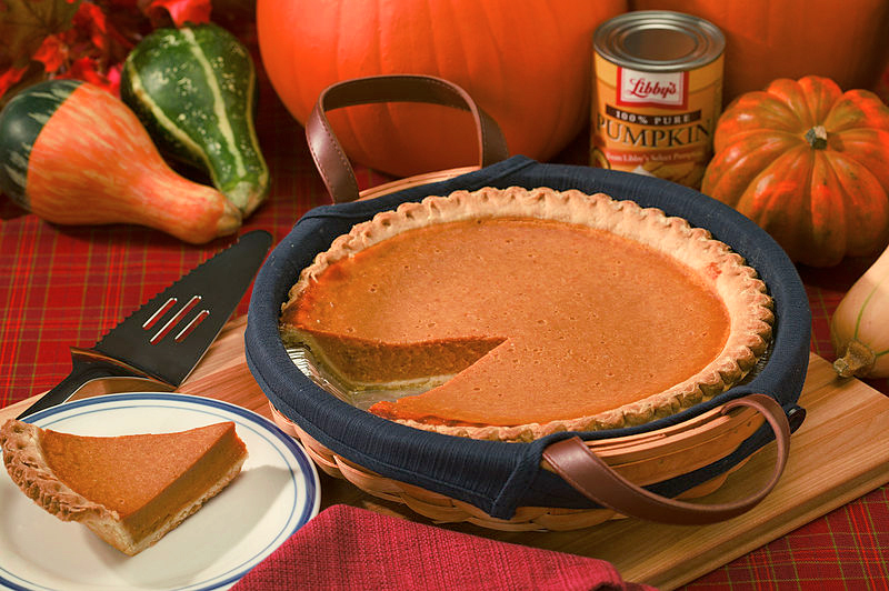 Pumpkin Pie Using Pastry Crust picture