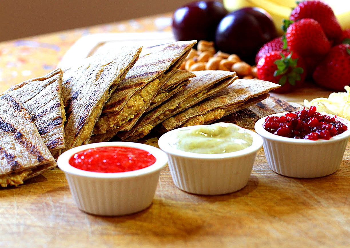 Peanut Butter Quesadillas picture
