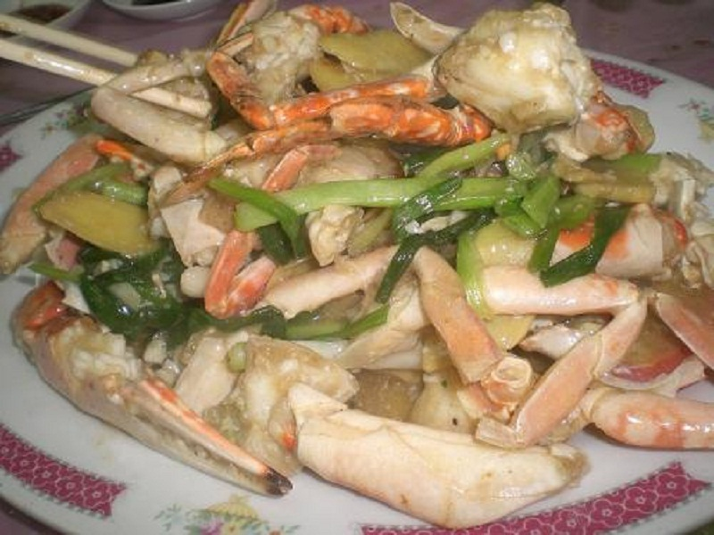 Quick Fried Crab In Aromatic Oil picture
