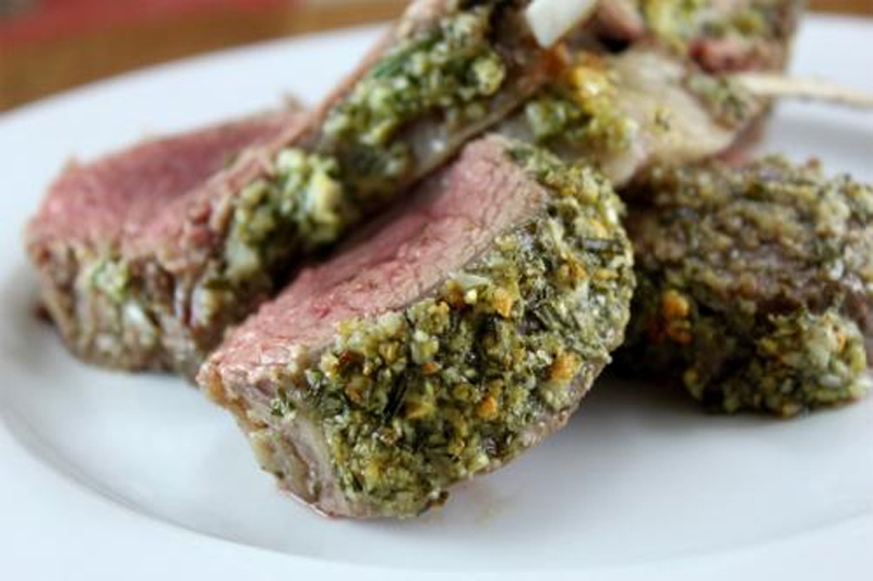 Rack Of Lamb With Tarragon Herb Rub picture