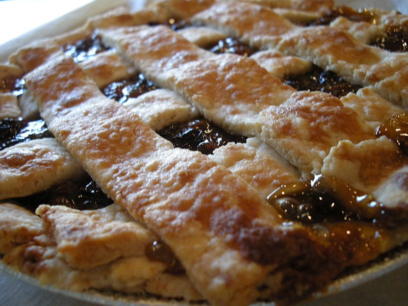Raisin Crisscross Pie picture