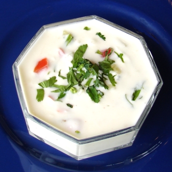 GRAPES AND WALNUT RAITA picture