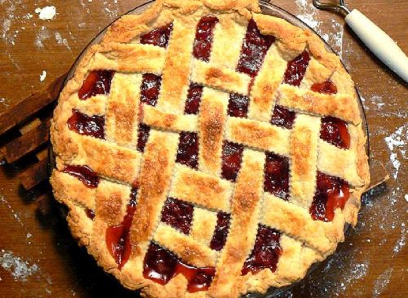 Raspberry Cherry Pie picture