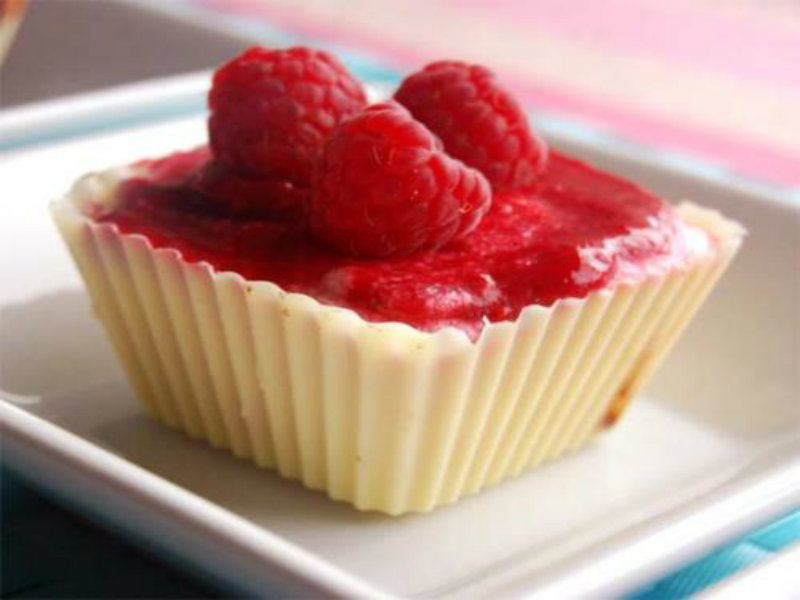 Marbled Raspberry Mousse picture