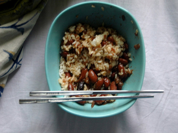 Red Beans And Rice With Soy Sauce picture
