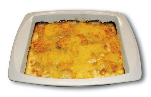 Red And Green Grape Gratin picture