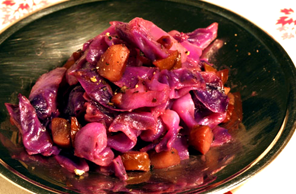 Red Cabbage and Chestnuts picture
