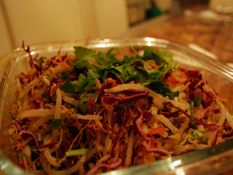 Red Cabbage Salad picture