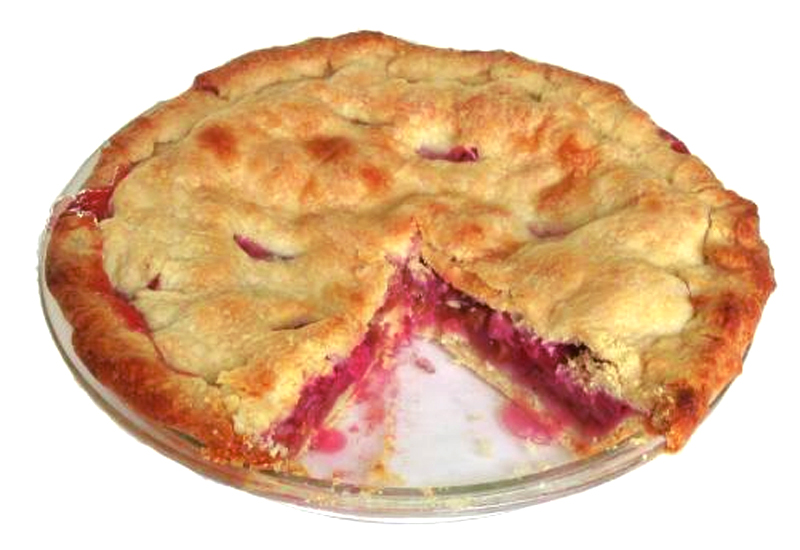 Rhubarb Pie picture