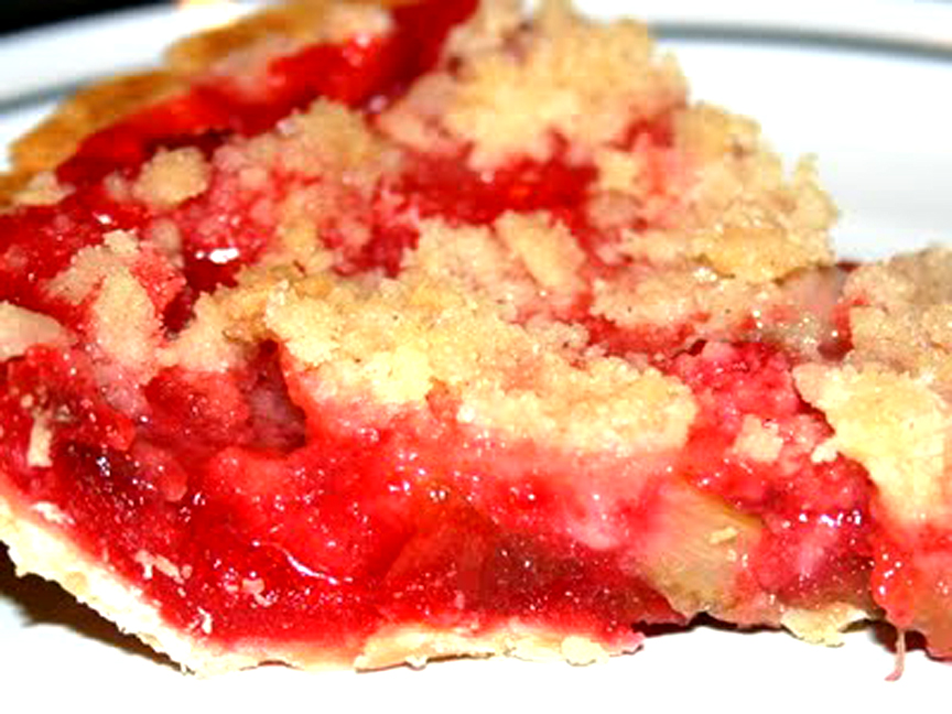 Rhubarb Surprise Pie picture