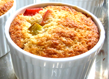 Rhubarb Pudding picture