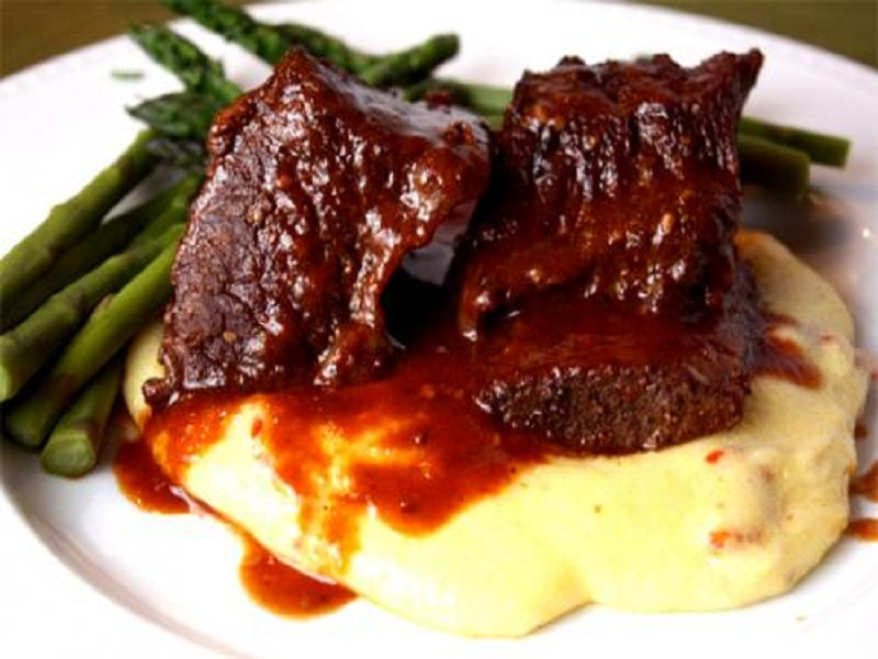 Ribs with Apricot Barbecue Sauce picture