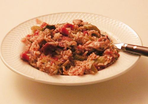 Rice and Chicken Jambalaya picture