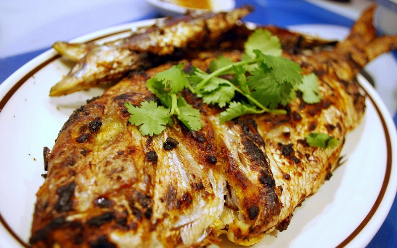 Rice Baked Stuffed Fish picture