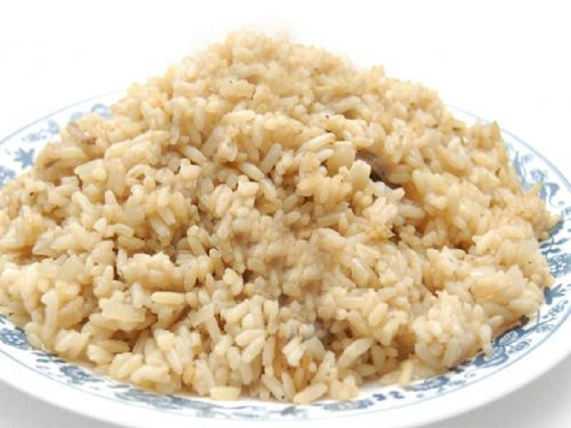 Rice Boiled in Stock picture