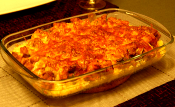Chicken Mozzarella Bake picture