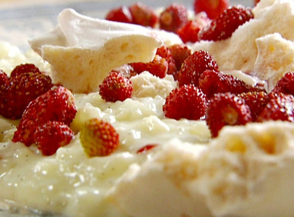Rice Pudding With Fresh Fruit picture