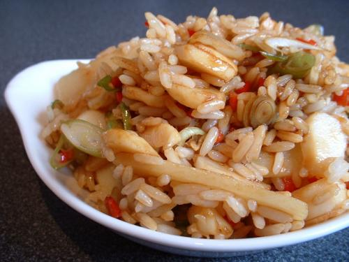 Curry-Mustard Rice Salad picture