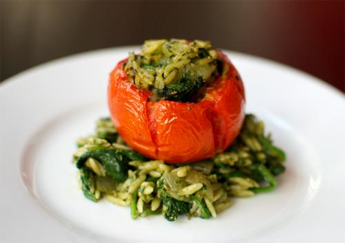 Rice Stuffed Tomatoes picture