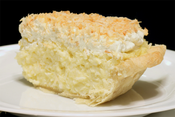 Rich Coconut Cream Pie picture