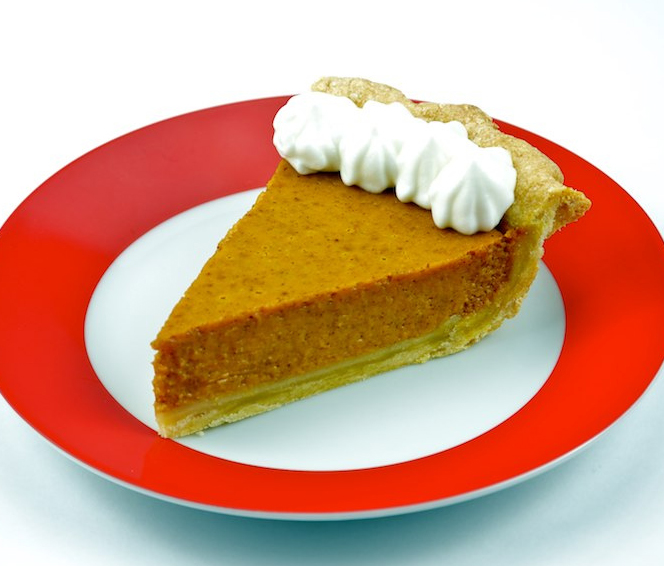 Rich Pumpkin Pie picture