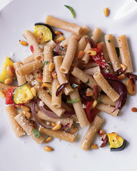 Whole Wheat Rigatoni with Roasted Vegetables picture