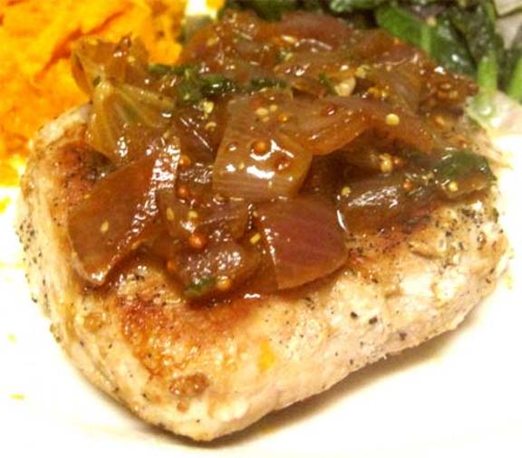 Roast Pork with Herb Gravy picture