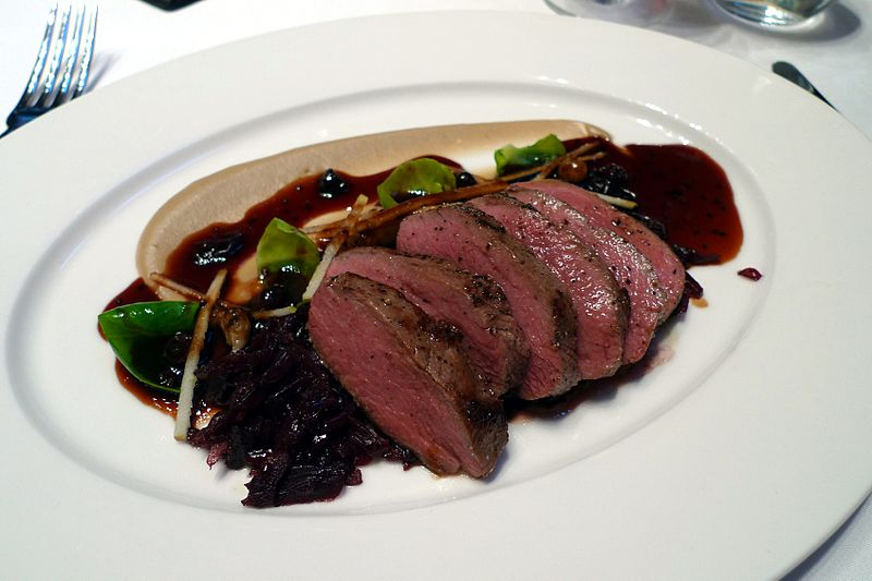 Roast Saddle Of Venison picture