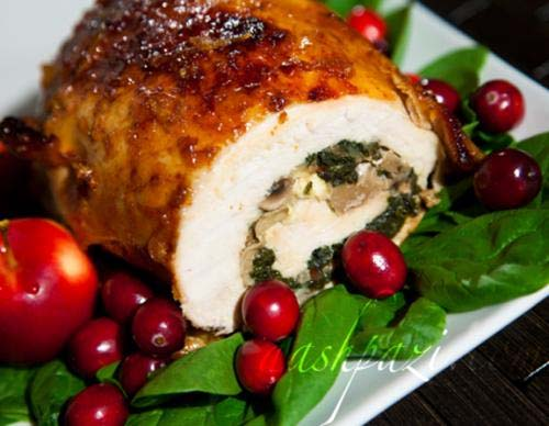 Roast Turkey Breast With Curried Fruit picture