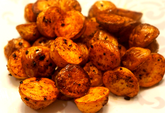 Roasted Baby New Potatoes picture
