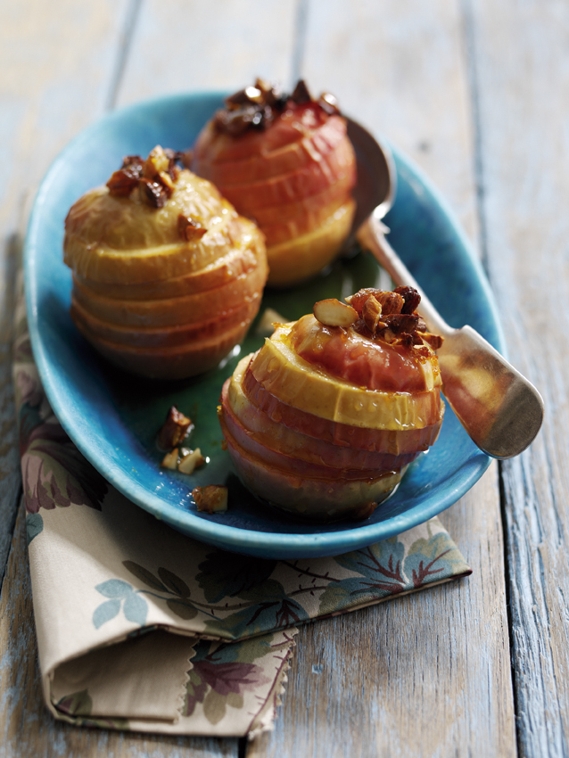 Roasted Pink Lady Apples picture