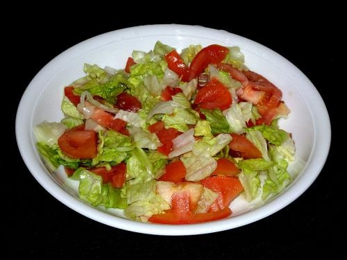 Rocket Tomato and Sugar Snap Pea Salad picture