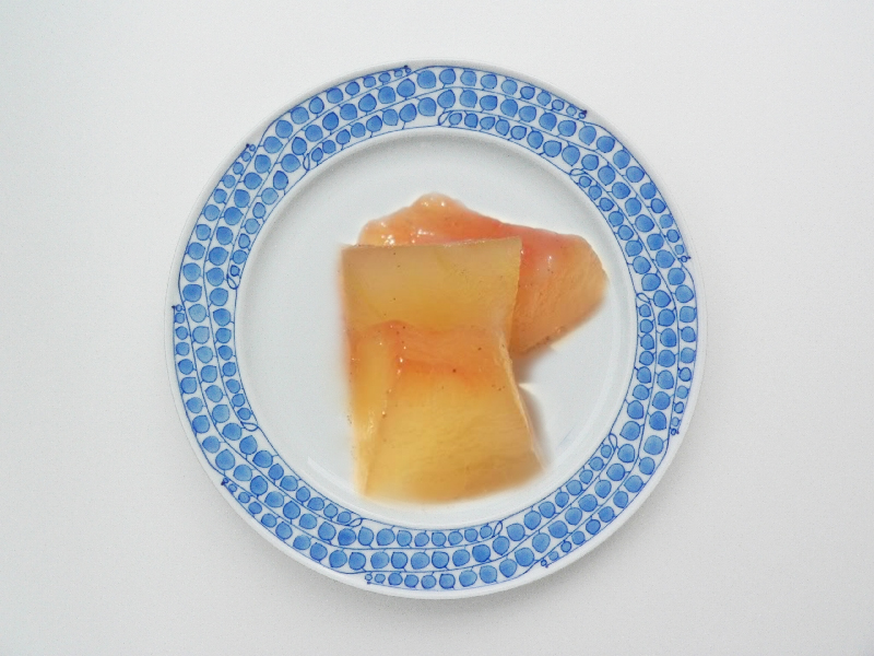 Rosy Watermelon Rind Pickle picture