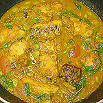 Bengali style Fish curry picture