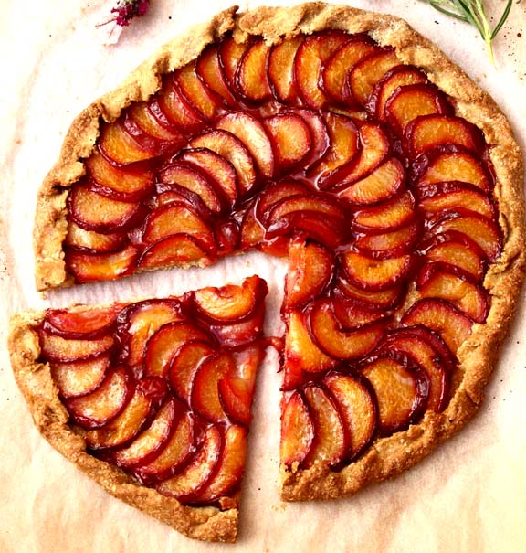 Rustic Plum and Nectarine Tart picture