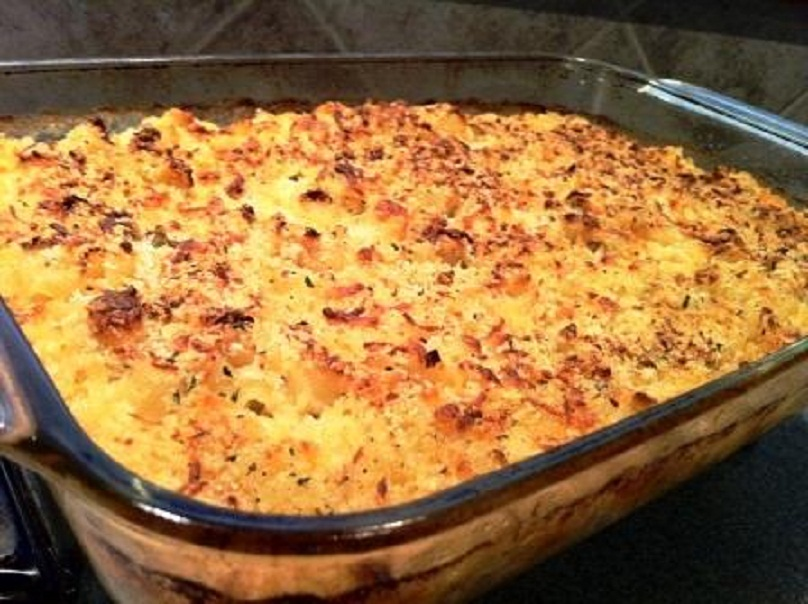 Salmon and Cheese Casserole picture