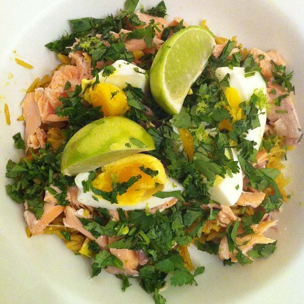 Salmon Kedgeree picture